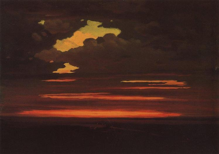 painting by Arkhip Kuindzhi: Clouds (c.1905)